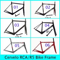Wholesale RCA Carbon Frames Cervelo R series R5 k Wave Accept Customized Road Racing Bike Frameset Provide Colors With Fork Seatpost Clamp Headset