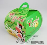 Wholesale cake packaging box cake decoration box cake case food packaging cake container by ems
