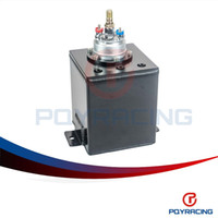 Wholesale PQY STORE L BLACK BILLET ALUMINUM FUEL SURGE TANK SURGE TANK PC HIGH QUALITY EXTERNAL FUEL PUMP PQY TK8344