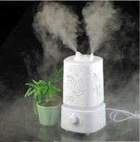 warm mist humidifier - New Aromatherapy diffuser air humidifier LED Night Light With Carve Design humidifier air Aroma Diffuser mist maker G245