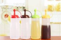 sauce bottles - 2015 High quality Leak proof seal dispenser bottle cups cups tomato sauce bottle Kitchen supplies PZ3