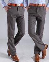 Wholesale Hot sale new high quality men casual pants cotton business pants brand men s trousers colors big size
