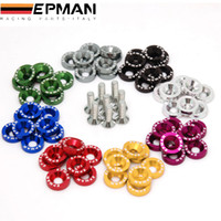 Wholesale EPMAN Fender Washers Bumper Washer Lisence Plate Bolts Kits for Honda Civic EK EP AP DC2 DC5 EP DP01S FS