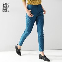 awesome pencils - Toyouth Spring Summer Female Casual Slim Pencil Pant Women Mid Waist Pocket Awesome Sequin Casual Trousers Pants