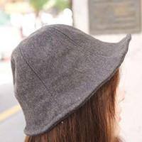 Wholesale Fashion Style Men Ladies Wool Felt Panama Trilby Fedora Jazz Dance Bowler Hat Cap