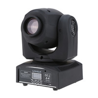 Wholesale LIXADA DMX Mini Moving Head Light RGBW LED Stage PAR Light with Shapes Automatic Professional Channel L0686