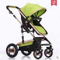 Wholesale Portable stroller umbrella Light folding baby stroller light type pram special High Landscape kinderwagen pushchair in