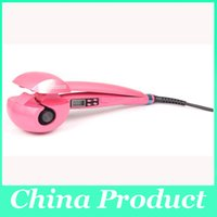 Wholesale NEW Automatic LCD Hair Curler Pro Curl Hair Roller Styler LCD Screen Display with EU US UK AU plug