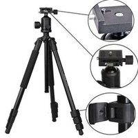Wholesale Hot Selling Universal Tripod with Bag Free Carrying bag Flexible Professional For WF BT Ball head Tripod Digital Camera DSLR