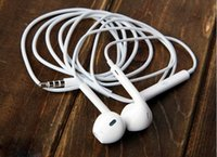 appl iphone - AAA High Quality Earphone Headphone Headset EarPods mm Stereo Handsfree with Remote Mic Earphones for iphone s iPhone6 plus Appl