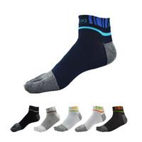 men five fingers socks - NEW Pair Breathable men Five finger socks five toe socks outdoor hiking socks fingers running sport socks colors