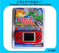 Wholesale Children kids gift Sy b games Nostalgic childhood screen color handheld game player consoles