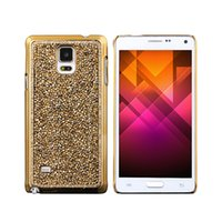 Wholesale S5Q Bling Diamond Crystal Back Electroplate Case Cover For Samsung Galaxy Note AAAEJO