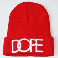 La nuova marca Beanie di inverno Hip Hop a maglia Cap uomini / donne ricamate Wool Cap cappello di lana alla moda