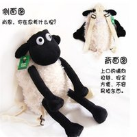 Wholesale 2015 Super cm cm Plush toys cartoon Sean sheep knapsack children animal backpack Spring Book Plush kids cute Backpack