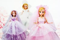 Wholesale girl doll Barbie clothes children s toys Gift Set beautiful princess Barbie DIY beaded children s toys