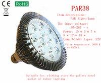 ball lead screws - Special package mail led lamp w7w PAR30 PAR38 w12wd ball steep light bulb E27 screw single lamp