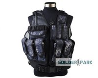 airsoft holster vest - Fall Airsoft Tactical Mesh Designed with Holster Vest Double layer High Density Mesh Nylon Outdoor Sports Typhon HLD Banshee Camo