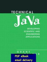 application java - Technical Java Applications for Science and Engineering