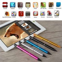 active capacitor - Active Capacitive Screen Pen USB Charging mm Precision Capacitor Stylus Screen Touch Drawing Pen for ipad for Samsung Tablets
