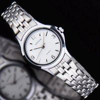 achat en gros de chi numérique-Authentique West Chi Westchi mode numérique ongles échelle quartz montre en argent W6114L