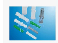 Wholesale Plastic expansion pipe expansion bolt expansion plug expansion screws mm white
