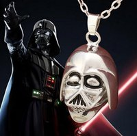 american war helmets - 2016 New European and American Movie Star Wars Darth Vader Helmet Surrounding Jewelry Pendant Necklace New Style