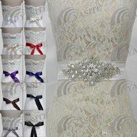 embellishments - Brand new stock wedding belt crystal rhinestone embellishment is the perfect partner to bridal gowns Custom Size wedding sash