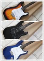 basswood prices - factory price Sunburst Black Blue custom shop stratocaster rosewood fingerboard chinese st electric guitar strat guitar