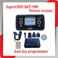 Wholesale 2014 Top Rated New Arrival SuperOBD SKP Hand Held OBD2 Auto Key Programmer V2 support many cars and DHL