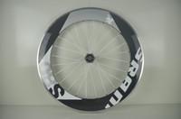 Wholesale Road Bike Clincher mm sram Carbon Wheels C Carbon Road Bicycle Wheels with Novatec Hub Carbon Wheelsets