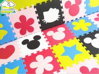 Wholesale Baby Floor Mat Children s Environmental Tasteless Eva Foam Mat puzzle foam pad floor mat eva plastic