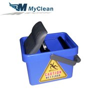 Wholesale Unique Design Floor Mop Bucket Wringer L Cleaning Mop Mini Plastic Bucket New PP Handfree Foot Pedal Hot New Product