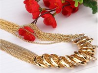 Wholesale Winter Autumn Spring Simple Fashion Alloy Luxury Necklace for Women Alloy Link Chain New Luxury Items