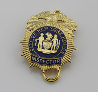 Wholesale The New York NYPD INSPECTOR badge badge