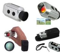 Wholesale 2015 Medidor Laser Time limited Binoculars Night for Vision for Infrared Thermal Imager Digital x Golf Range Finder Golfscope Scope W bag