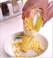 Wholesale Free DHL Hot Sell Kitchen Detachable Corn Kerneler Peeler Corn Stripper Kernel Cutter Kitchen Accessories