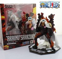 admiral movie - EMS Shipping quot One Piece Marine Fleet Admiral Akainu Sakazuki Battle Ver Boxed PVC Action Figure Collection Model Toy