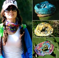 beachwear products - Fashion High quality Outdoor magic scarf multifunctional shutter Turban riding essential products Bike Caps bandana turban Free DHL Ship