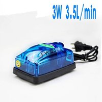 Wholesale New L min W high efficiency Aquarium Air Pump Fish Tank Pond Oxygen Pump