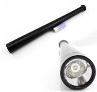 Wholesale Long Security Light Baseball Bat Shape CREE Q5 LED Flashlight Torch Mode