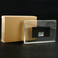 acrylic magnet frames - 5inch mm Magnet Acrylic photo frame transparent picture frame with Magnet Thickness mm mm