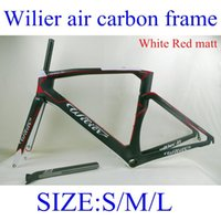 carbon road bicycle frame carbon bike frame - 2015 New arrival Wilier air carbon Bike frame BB386 bottom bracket size S M L full carbon bicycle frameset white Red matt yellow fluo colors