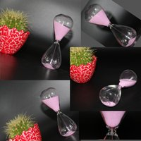 Wholesale Newest Curiosity Minutes Sand Clock Customized Sand Color Egg Shape Glass Sand Clock Great Gift For Christmas