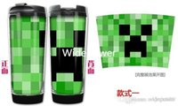 Wholesale 10PCS New Item minecraft Cups Travel Filtered Water Better Cup Kettle Water Bottle