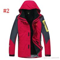 Wholesale 2014 Hot sale Mens Jackets winter warm new breathable windproof fleece outdoor piece colors ski suits hiking clothing