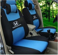sheepskin car seat covers - Car Seat Cover Front Rear Complete Set Seats For Honda Spirior Crider Accord Civic Colors