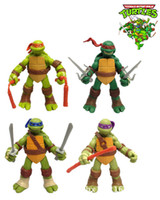 Wholesale ninja turtles adult anime action figure and toys one piece figure set christmas kids toys gifts cartoon toys