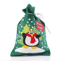 atmosphere bags - 2015 Christmas Gift Bag Christmas Atmosphere Decoration Supplies Santa Claus Gift Bag Close Christmas New Style