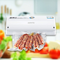 automatic tea packing machine - 220V Multifunction Vacuum Household Sealing Machine Strengthen Sealer Packer Fully automatic Packing Tea Food Dry Wet Dual use